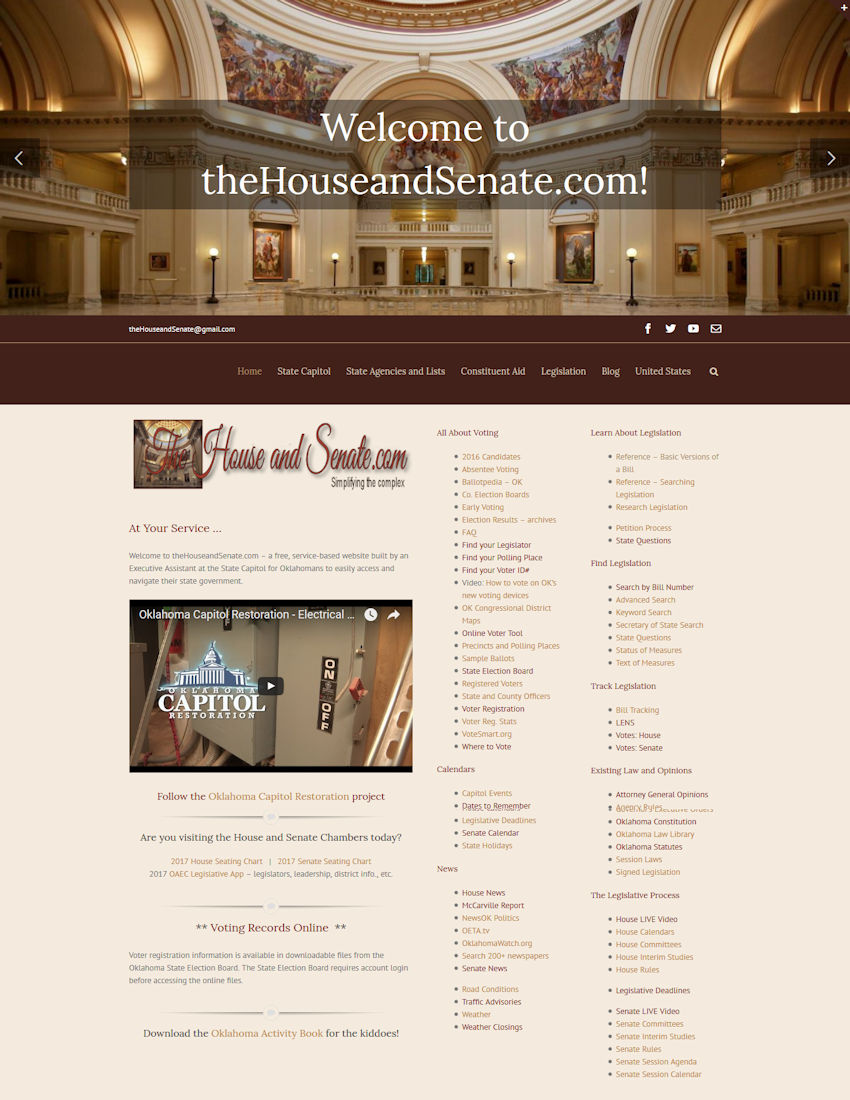theHouseandSenate.com